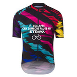 Colorful Collapse Cycling Jersey