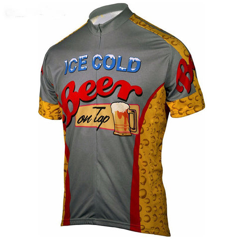 Ice Cold Beer Cycling Jersey