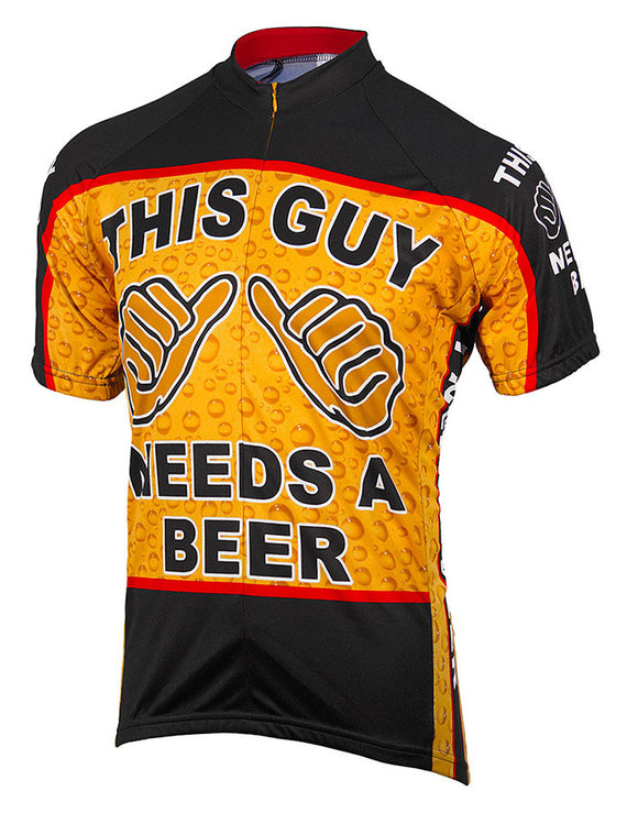 Beer Short Sleeve Cycling Jersey