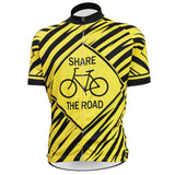Share The Road Black and Yellow