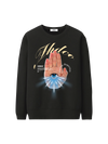 HAMSA SWEATER - BLACK