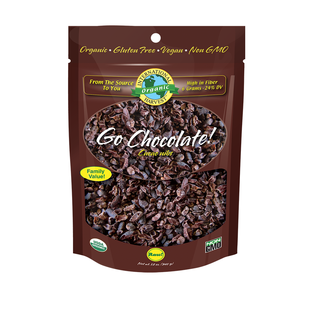 Go Chocolate! Cacao Nibs