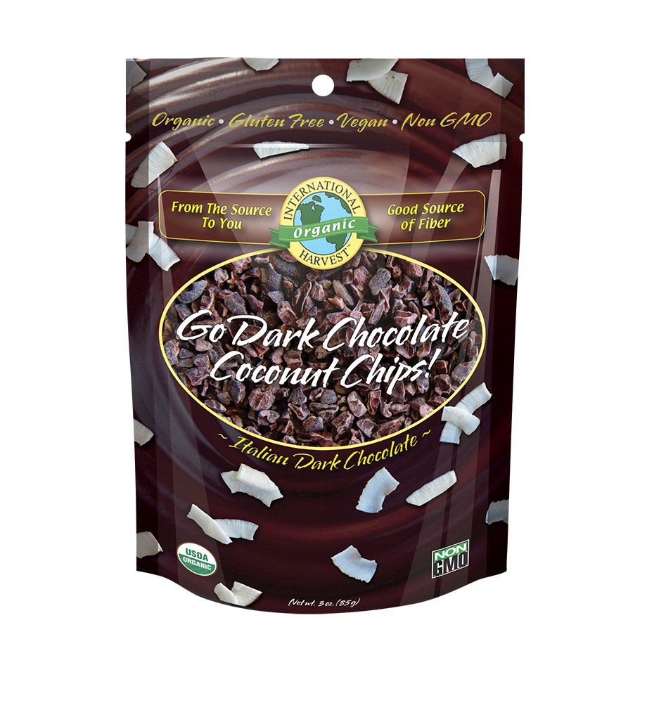 Go Dark Chocolate Coconut Chips!