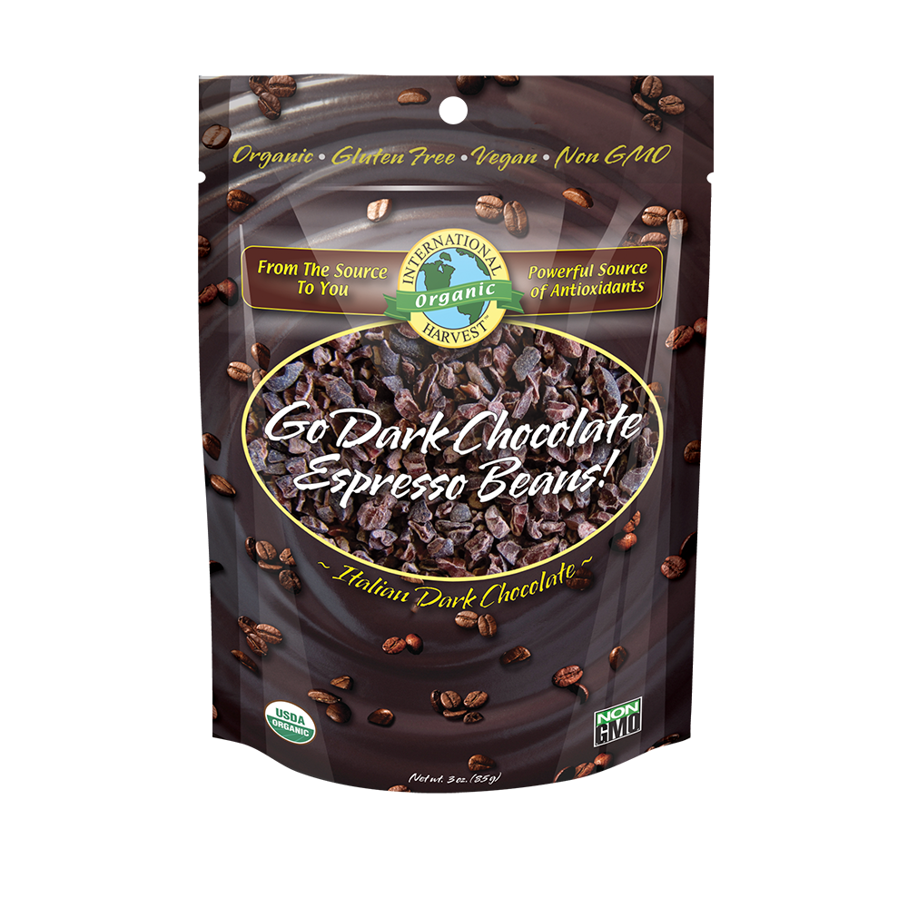 Go Dark Chocolate Espresso Beans!