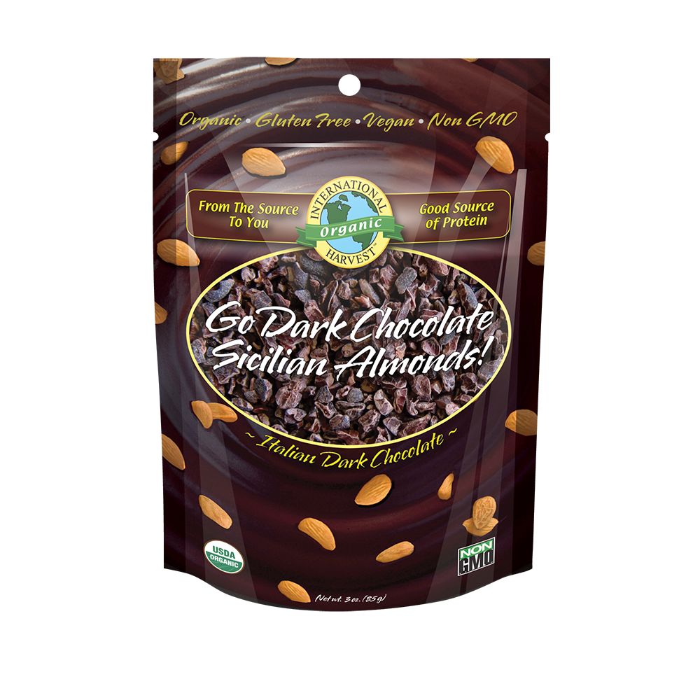 Go Dark Chocolate Sicilian Almonds!