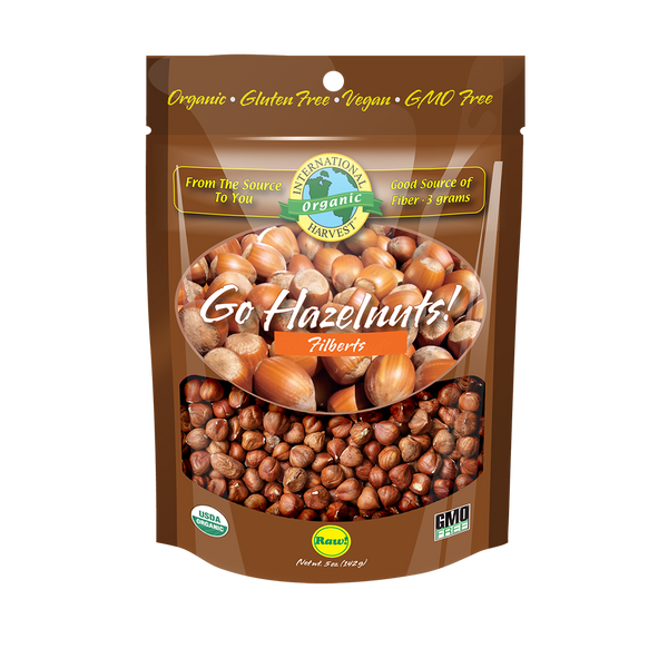 Go Hazelnuts! Whole Hazelnuts