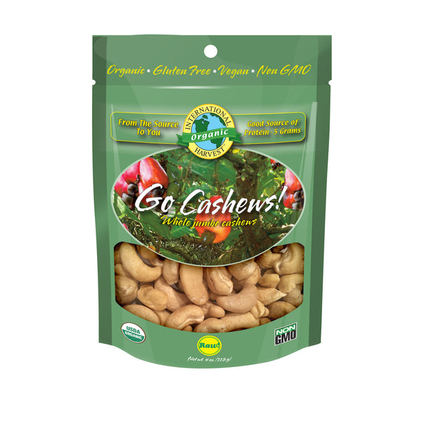 Go Cashews! Whole Jumbo Cashews