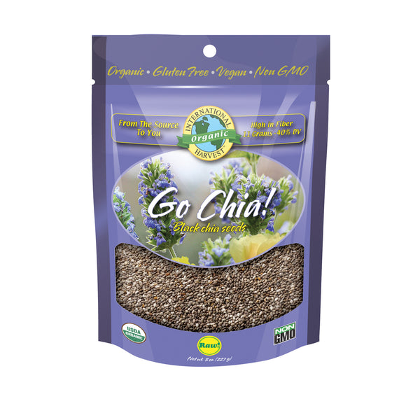 Go Chia! Black Chia Seeds
