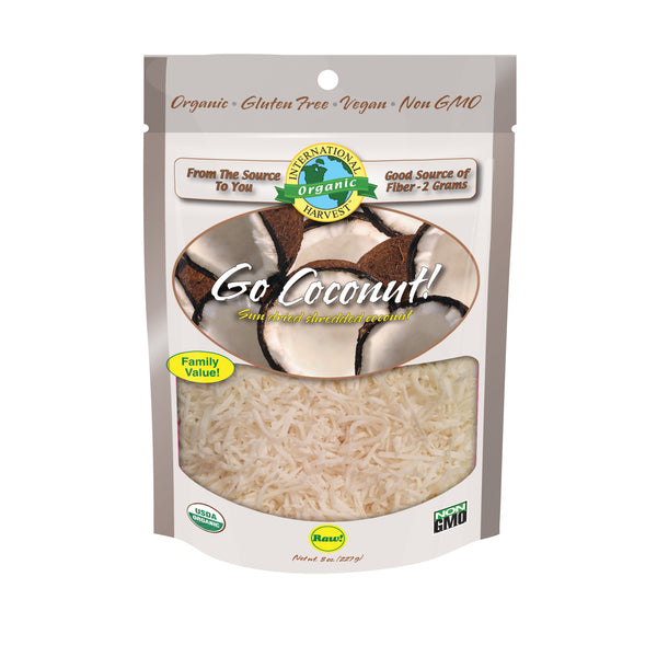 Go Coconut! Sun Dried Shredded Coconut