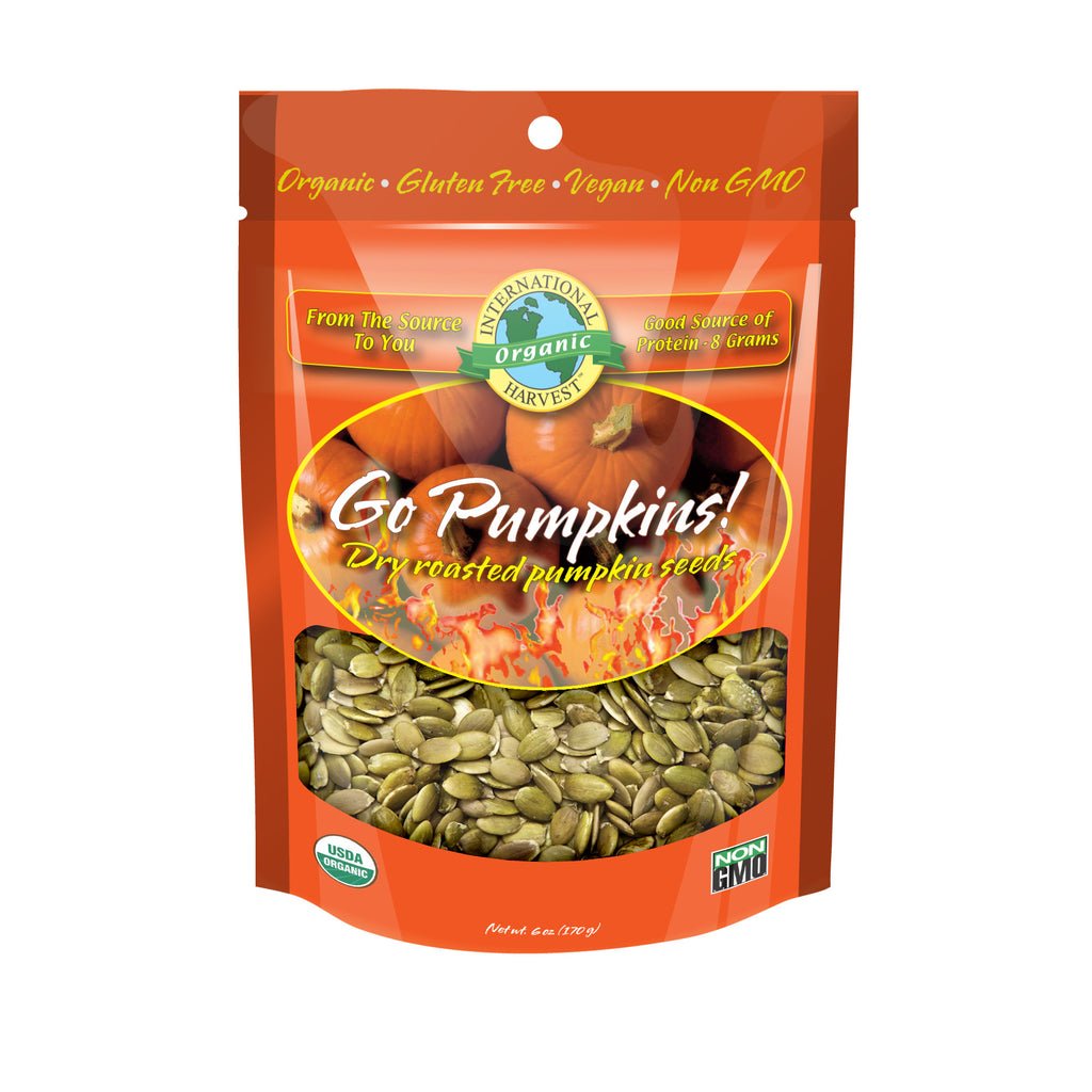 Go Pumpkin! Dry Roasted Pumpkin Seeds