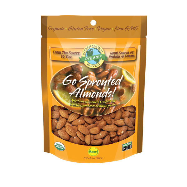 Go Sprouted Almonds!