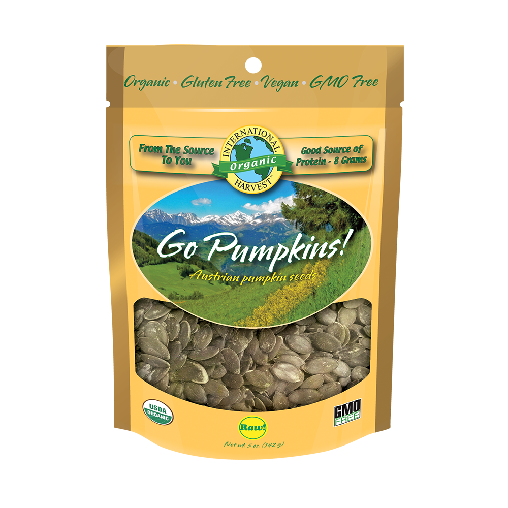 Go Pumpkins! Raw Austrian Pumpkin Seeds