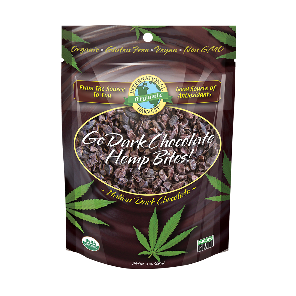 Go Dark Chocolate Hemp Bites!
