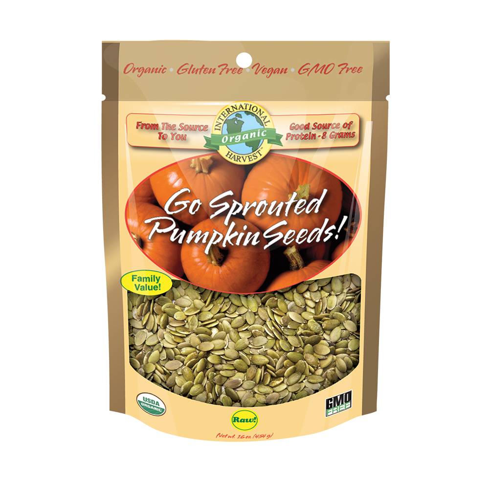 Go Sprouted Pumpkin Seeds!