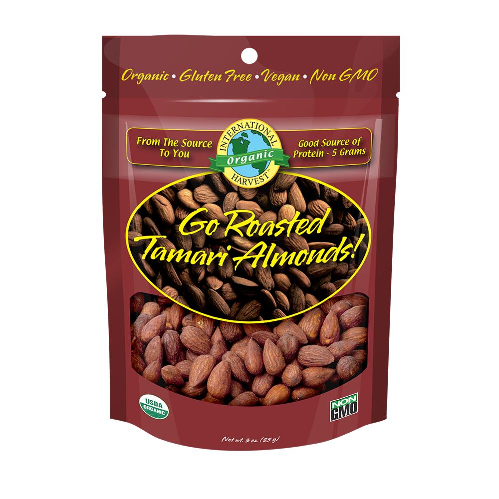 Go Almonds! Tamari Roasted
