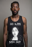 God Bless Sasha Grey Tanktop Black, Black God Bless Sasha Grey Tanktop, God Bless Sasha Grey, God Bless Sasha Gray, Sasha Grey Tanktop, Sasha Grey Collection