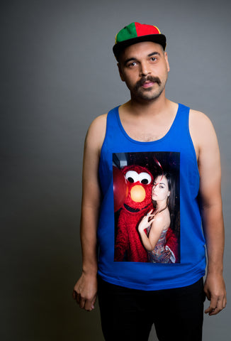 Sasha Grey Royal Blue Elmo Tanktop, Royal Blue Sasha Grey Elmo Tanktop, Sasha Grey Elmo Tanktop, Sasha Grey Elmo Tanktop Royal Blue, Sasha Grey Graphic Tanktop, Sasha Grey Graphic Tanktop Royal Blue, Sasha Grey Elmo, Sasha Grey Collection, Sasha Grey Tanktop