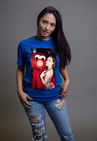 Sasha Grey Graphic Tshirt Blue, Sasha Grey Graphic Tshirt, Sasha Grey Blue Elmo Tshirt, Blue Sasha Grey Elmo Tshirt, Blue Sasha Grey Elmo Tshirt, Sasha Grey Elmo Tshirt Blue, Sasha Grey Tshirt, Sasha Grey Collection, Sasha Grey Elmo