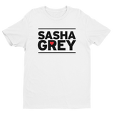 Sasha Grey Heart Tshirt White, Sasha Grey Heart Tshirt, White Sasha Grey Heart Tshirt, Sasha Grey Heart, Sasha Grey Collection, Sasha Grey Tshirt, I Heart Sasha Grey