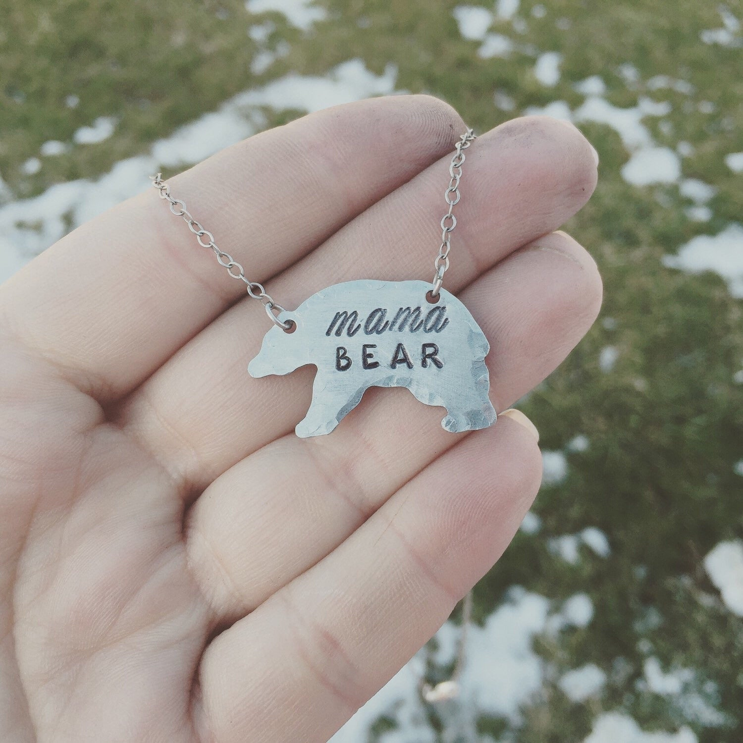 mama little bear things of necklace product the image