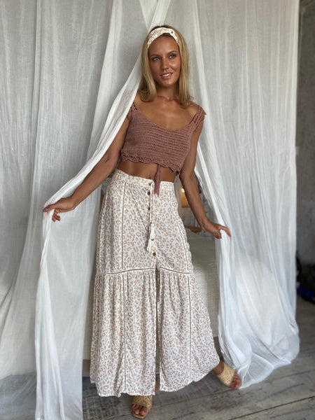 Chai Lace Maxi Skirt
