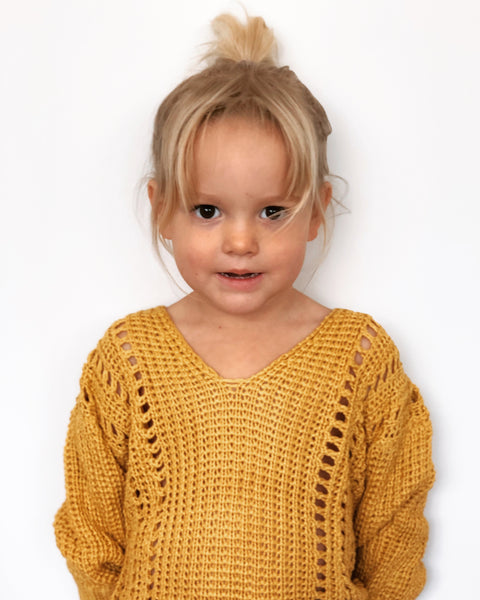 Girls Hazel Knit Jumper