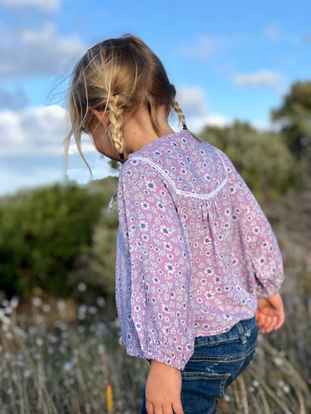 Daisy Dreams Girls Boho Blouse