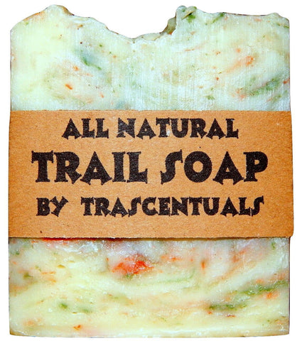 All Natural Trail Soap For Camping and Hiking Soap and Shampoo in One - TRASCENTUALS