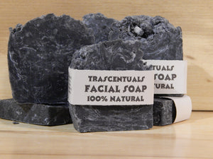 Activated Charcoal Face Soap With Tea Tree Oil - TRASCENTUALS