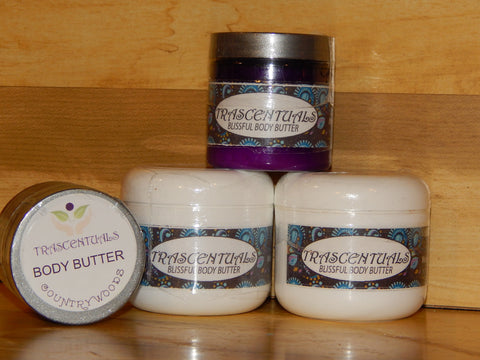 Body Butter Lotion Country Woods - TRASCENTUALS