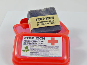 Stop Itch Jewelweed Soap For Poison Ivy Relief and Itchy Skin - TRASCENTUALS