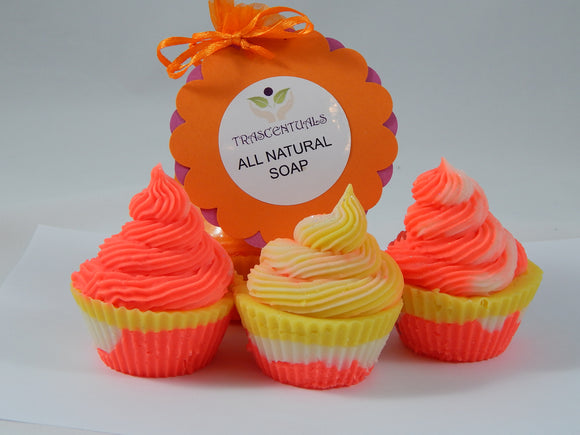 Luxury Soap Cupcakes - TRASCENTUALS