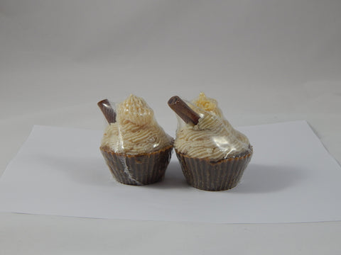 Luxury Soap Cupcakes Vanilla & Cocoa - TRASCENTUALS