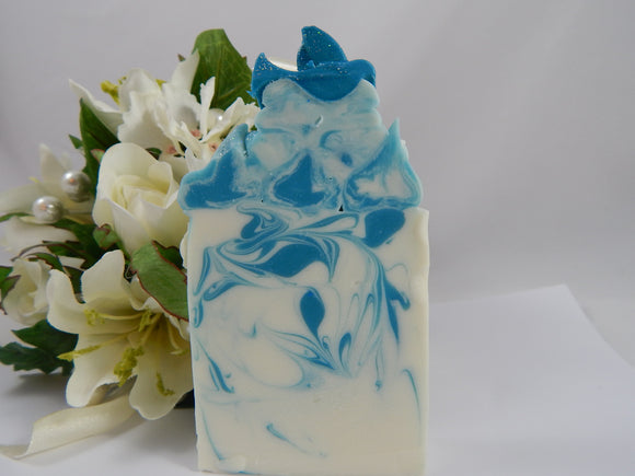 Something Blue Luxury Natural Soap Bar - TRASCENTUALS