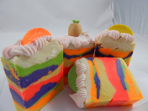 Tutti Fruity Luxury Natural Soap - TRASCENTUALS