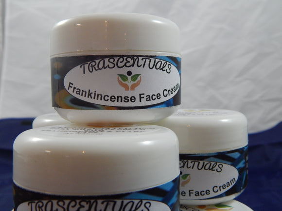 Frankincense Face Cream - TRASCENTUALS