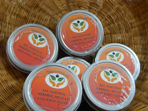 Warming Muscle and Joint Salve - TRASCENTUALS