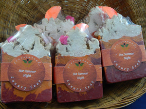 Luxury Soap Bar Hot Summer Nights - TRASCENTUALS
