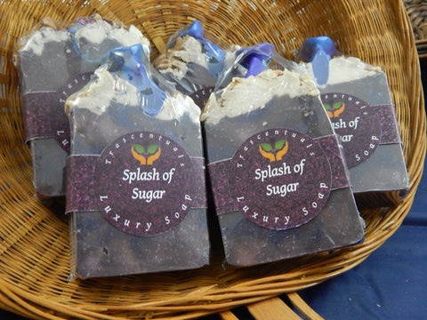 Luxury Soap Bar Splash of Sugar - TRASCENTUALS