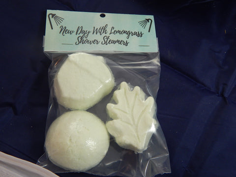Shower Steamers Lemon Grass - TRASCENTUALS