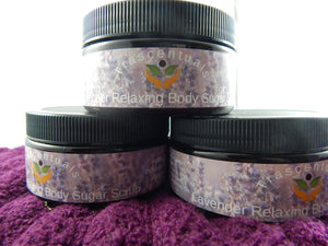 Sugar Scrub Lavender - TRASCENTUALS