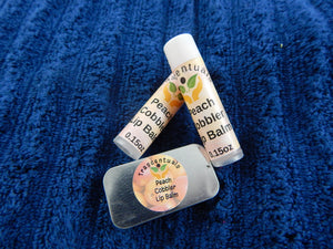 Lip Balm Peach Cobbler - TRASCENTUALS