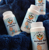 Baby Powder 3 oz All Natural unscented - TRASCENTUALS