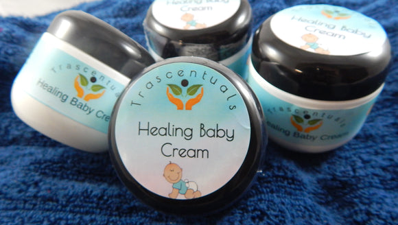 Healing, Dry Skin Baby Cream - TRASCENTUALS