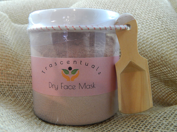 Clay Face Mask Dry Add Your Own Liquid - TRASCENTUALS