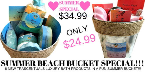 Summer Beach Bucket - TRASCENTUALS