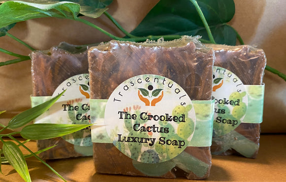 The Crooked Cactus Luxury Soap