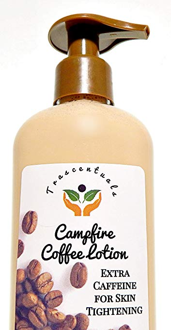 Coffee Lotion with Added Caffeine For Skin Tightening and Firming - TRASCENTUALS