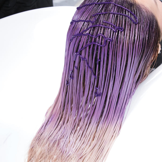 How long should I leave purple shampoo in for?