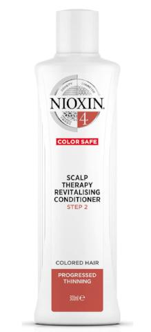 NIOXIN SYSTEM 4 SCALP THERAPY REVITALIZING CONDITIONER FOR COLOURED HAIR WITH PROGRESSED THINNING 300ML